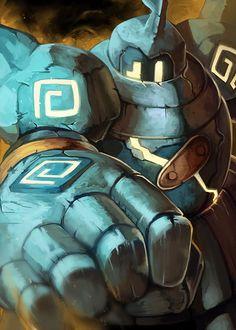 Type Ground: Golurk by Yilx.deviantart.com on @DeviantArt