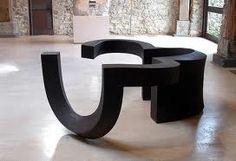 CHILLIDA sculpture at the museum