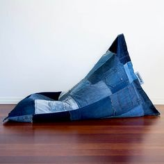 Recycled Jeans Become a Comfy Lounge