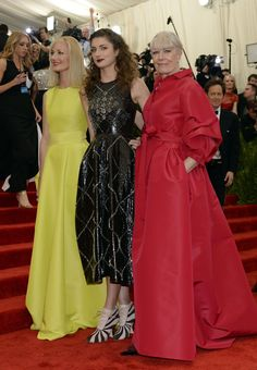 Joely Richardson, Daisy Bevan, and Vanessa Redgrave Met Gala 2013: See All the Red Carpet Looks - The Cut