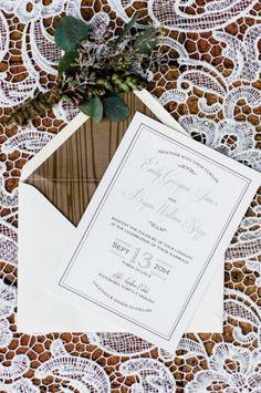 35 preciosas invitaciones de boda en color blanco para 2016: Los diseños más elegantes Image: 2