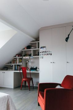 Using your attic space for a home office
