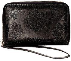 peněženka Desigual 47Y5466/Mini Zip Neograb - 2000/Negro