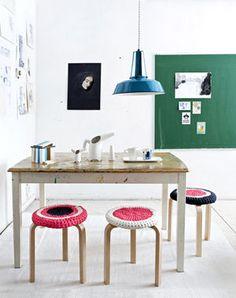 IKEAのスツール(FROSTA)を使ったおしゃれで使えるDIY♡ - NAVER まとめ