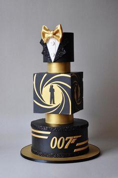 Bond. James Bond. by ArchiCAKEture