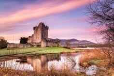 Ross Castle, Killarney, County Kerry, Ireland.