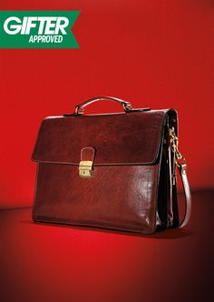 These briefcases are all business. Look for rich leather accessories, priced to impress. #TheGifter #Marshalls