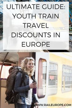 Rail Europe's Guide to #youth #travel #discounts in Europe, via train. Covering…