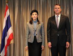 Yingluck Shinawatra Photos: Thai Prime Minister Visits Australia - Day 4