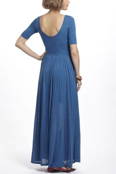 Scoopback Maxi Dress - Anthropologie.com