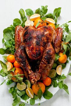 How to Garnish a Turkey | Design Mom