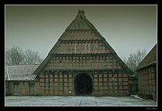 A Barn In Cloppenburg Photo: This Photo was uploaded by williamofwaco. Find other A Barn In Cloppenburg pictures and photos or upload your own with Phot. Witch Queen, Historical Architecture, Barns, Celtic, Pictures, Photos, Old Things, Germany, Europe
