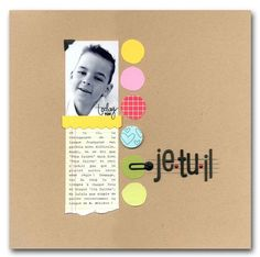 A Project by Severine from our Scrapbooking Gallery originally submitted 04/03/09 at 08:08 AM