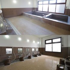 a large bath