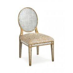 Églomisé Dining Side Chair