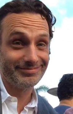Andy Lincoln - he's too cute Walking Dead Quotes, Walking Dead Tv Series, The Walking Dead Tv, Rick Grimes, Ricky Dicky, Mike Rowe, Andy Lincoln, Melissa Mcbride, Stuff And Thangs