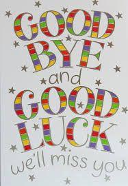 printable farewell card for colleague