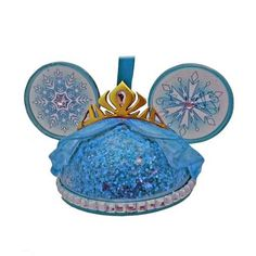 Your WDW Store - Disney Ear Hat Ornament - Queen Elsa - Frozen