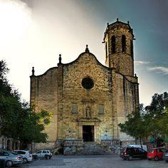 Església de Sant Baldiri, Sant Boi de Llobregat, Baix Llobregat, Barcelona by Panoramyx, via Flickr ~ Spain Romanesque, Cathedrals, Barcelona Cathedral, Worship, The Neighbourhood, Spiritual, Around The Worlds, Houses, City