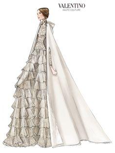 Valentino crée la robe de mariée de Tatiana Santo Domingo