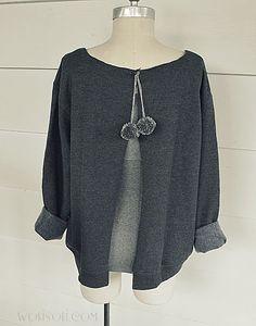 Sweatshirt Refashion knockoff - EASY!   Brassy Apple   Bloglovin'