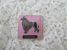 1950's dog brooch by Nkempantiques on Etsy