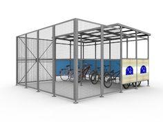 Premium Security Bike Shelter 4 x 2.5m