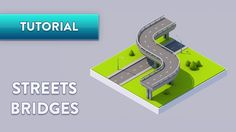 C4D TUTORIAL   Streets & Bridges (FAST)