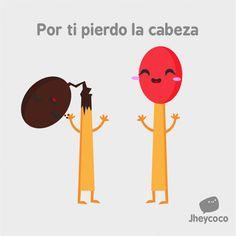 Por ti pierdo la cabeza. #humor #risa #graciosas #chistosas #divertidas