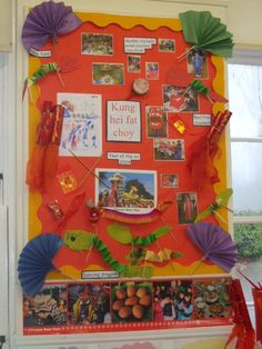 Chinese New Year Display . Teaching Displays, Class Displays, School Displays, Classroom Displays, Classroom Ideas, Classroom Posters, Primary Classroom, Library Displays, Classroom Design