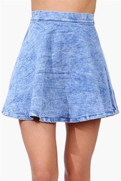 Miss Me Skirt - Denim
