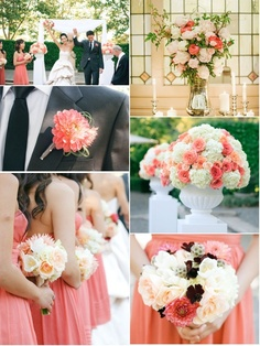 Peach Wedding...I really love this color