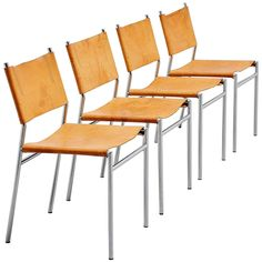 Martin Visser SE06 Dining Chairs for 't Spectrum, 1967 | From a unique collection of antique and modern dining room chairs at https://www.1stdibs.com/furniture/seating/dining-room-chairs/