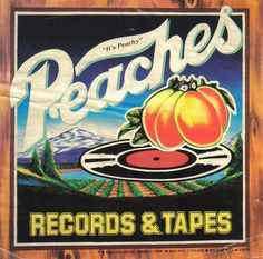 Peaches Crate label