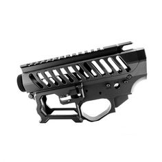 Billet Matched Receiver Set Black Skeletonized Firearms Receiver Set is a modern take on the MIL-SPEC of yester-year. Airsoft Sniper, Airsoft Guns, Ar Lower Receiver, Ar Pistol Build, Ar Parts, Ar 15 Builds, Battle Rifle, Guns And Ammo, Firearms
