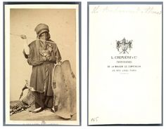 1862 Tuareg chief in Paris.