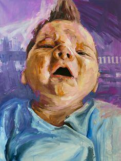 Artist: Michael Tsinoglou Portraits, Oil Painting