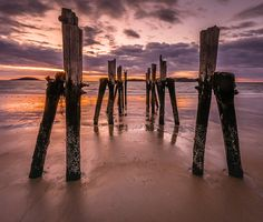 The Old Pier at West Beach - Seascape Photography