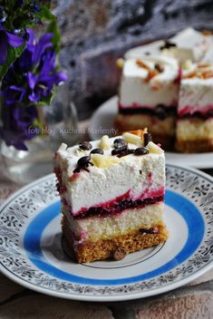Creme, Cake Recipes, Cheesecake, Food And Drink, Pie, Cupcakes, Yummy Food, Sweets, Baking