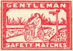gentleman safety matches