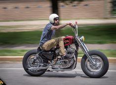 Ride To Skate 2015 Custom Choppers, Custom Harleys, Custom Motorcycles, Custom Bikes, Bobber Bikes, Bobber Motorcycle, Motorcycle Design, Antique Motorcycles, Honda Motorcycles