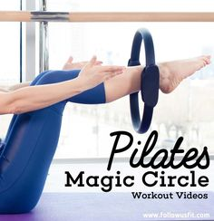 Free Magic Circle Pilates Videos More - Moden Achrichten Pilates Workout Routine, Pilates Abs, Pilates Training, Fitness Workouts, Pilates Ring Exercises, Pilates At Home, Pilates Reformer, Pilates Videos, Magic Circle Pilates