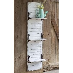Rustic Farm House Country Style Window Shutter Hanging Wall Shelf Display Accent - All About Decoration Shutter Shelf, Shutter Wall Decor, Window Shutter Crafts, Shutter Table, Diy Shutters, Wooden Shutters, Repurposed Shutters, Decorating With Shutters, Repurposed Items