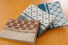 Name Card Cases of kogin pattern@画像 名刺入れ×12/弘前こぎん研究所
