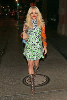 Rita Ora in Miu Miu Mehr Looks des Tages gibt es bei ICON http://www.welt.de/icon/article124496720/Rita-Ora-in-Miu-Miu.html