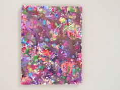 Abstract Pop Canvas Graffiti Painting Expressionist by ResemblesMe