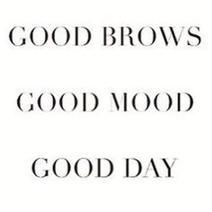 Good brows make for a good day! Call us today to set up an appointment for either brow shaping or microblading with our licensed aesthetician Salon Quotes, Hair Quotes, Spa Quotes, Happy Beauty, Eyebrow Quotes, Mascara Quotes, Younique, Brow Shaping, Microblading Eyebrows