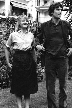 Jodie Foster and Robert DeNiro,1976 ,Cannes Film Festival ,Taxi Driver, (LIFE)