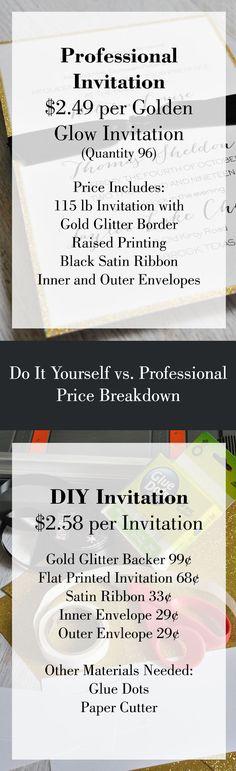 Wedding Invitations: DIY vs. Professional Printing