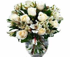Clare Florist White Rosmeria Gorgeous Roses and Alstroemeria White Rosmeria - gorgeous, elegant delight. The White Rosmeria bouquet makes an ideal romantic gift, showing the most important people in your life that you care for them (Barcode EAN = 5060265130978) http://www.comparestoreprices.co.uk/flowers-and-flower-delivery/clare-florist-white-rosmeria-gorgeous-roses-and-alstroemeria.asp